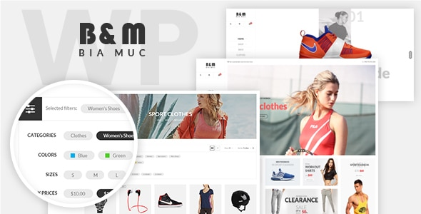 SNS BiaMuc - WooCommerce WordPress Theme