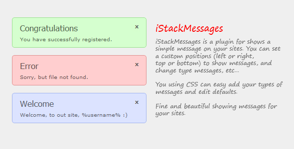 iStackMessages
