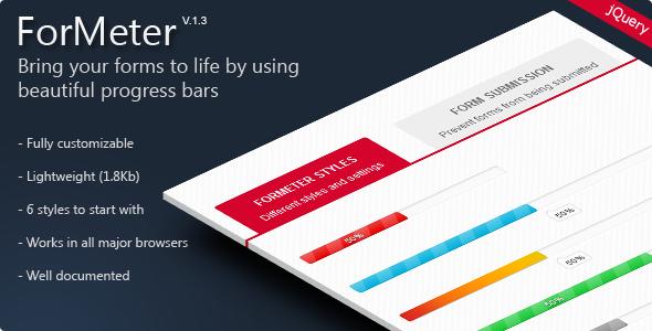 ForMeter - Form Completion Progress Bar