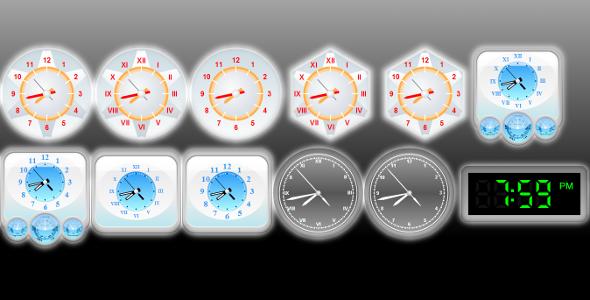 HTML5 (JavaScript) Clocks