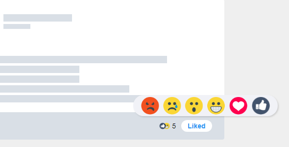 Reaction Button jQuery Plugin Makes Everything Reactable
