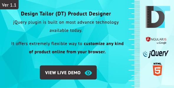 Design Tailor - Complete Custom Product Designer Plugin