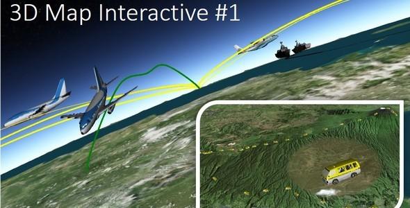 3D Map Interactive #1