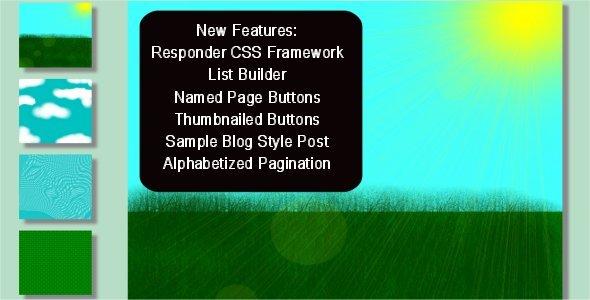 Paginate Page Building Framework