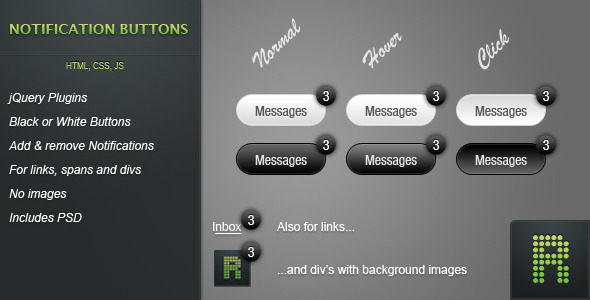 Notification Buttons