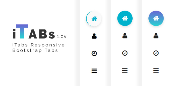 iTabs Responsive Bootstrap Tabs
