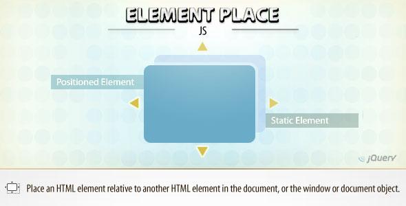 Element Place (jQuery)