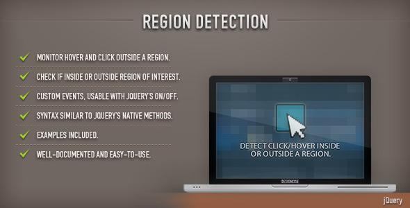 Region Detection (jQuery)