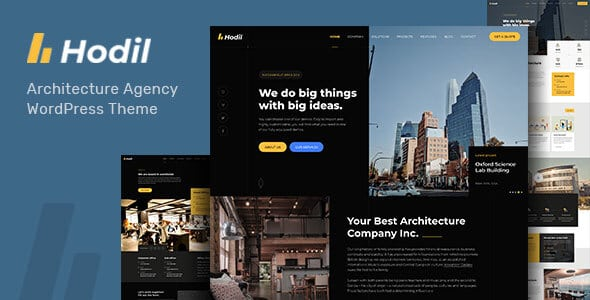Hodil - Architecture Agency WordPress Theme