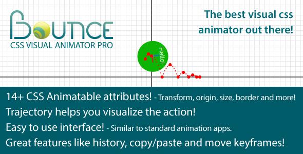 Bounce - CSS Visual Animator Pro