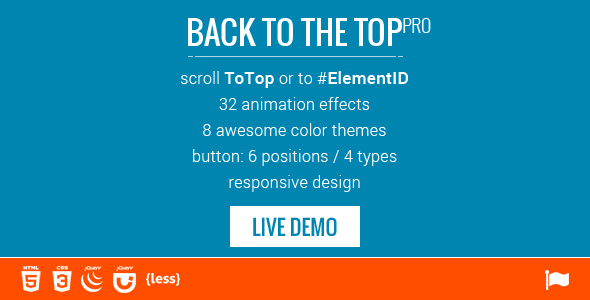 Scroll to Top / ID - 32 Animations