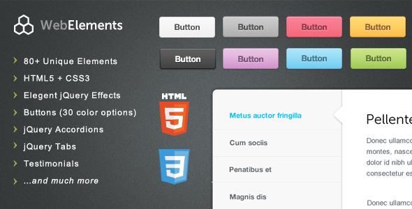 Web Elements - Buttons