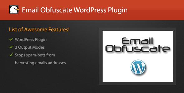 WordPress/jQuery Email Obfuscate Plugin
