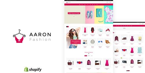 Aaron - Unisex Fashion Shopify