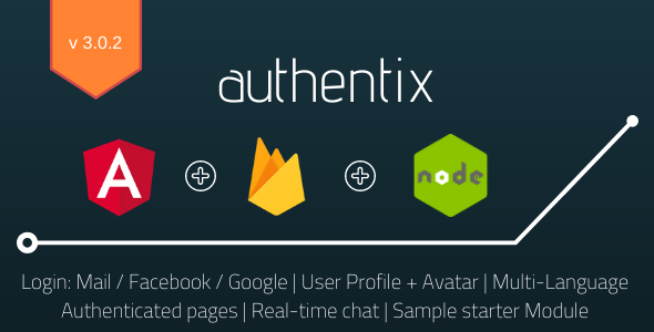 Authentix MVP - Angular 11 Firebase Starter + Bonus Node.js Admin Panel
