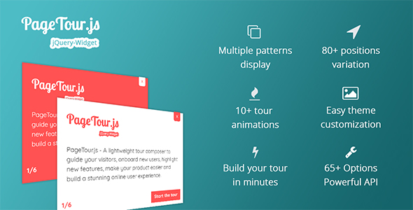 PageTour.js - A Lightweight Tour Composer To Guide Your Visitors And Onboard New Users