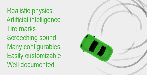 Realistic Car Physics & AI System