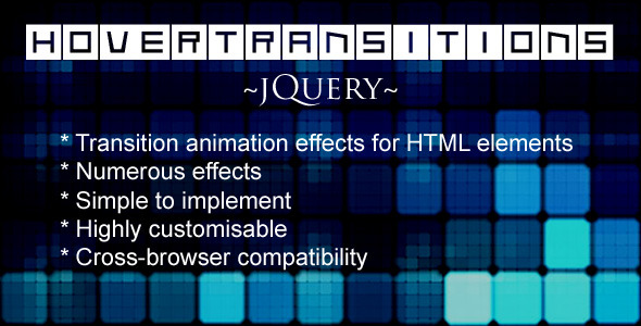 HoverTransitions - jQuery
