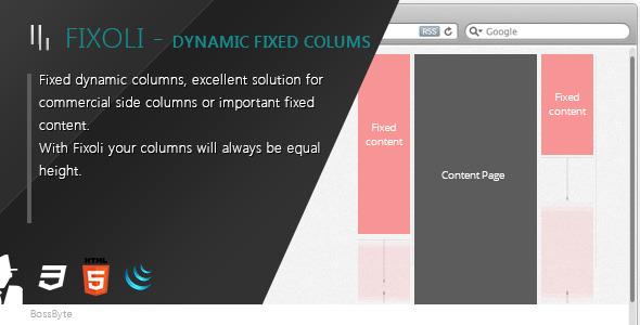 Fixoli - Dynamic fixed columns