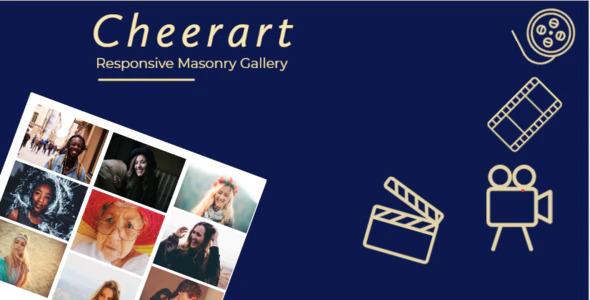 Cheerart - Bootstrap Responsive Masonry Gallery