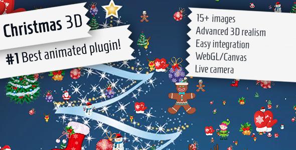 Christmas 3D - jQuery Plugin