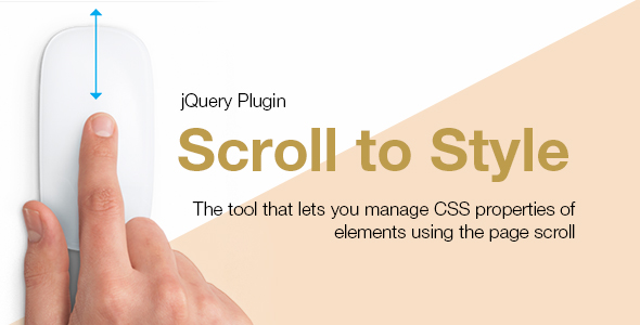 Scroll to Style jQuery Plugin