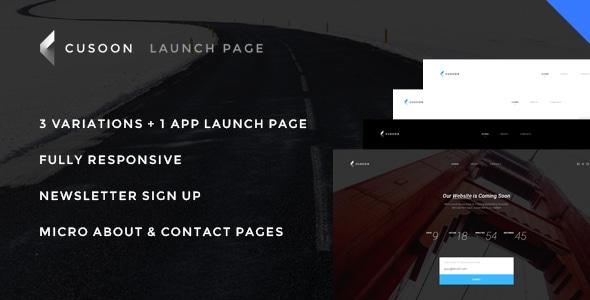 C U Soon - Launch Page