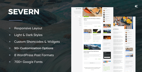 Severn - Responsive WordPress Blog Theme