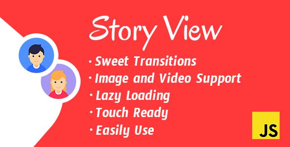 StoryView - Javascript Story Viewer