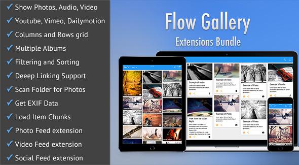 Flow Gallery Extensions Bundle