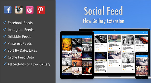Social Feed - Flow Gallery Exension