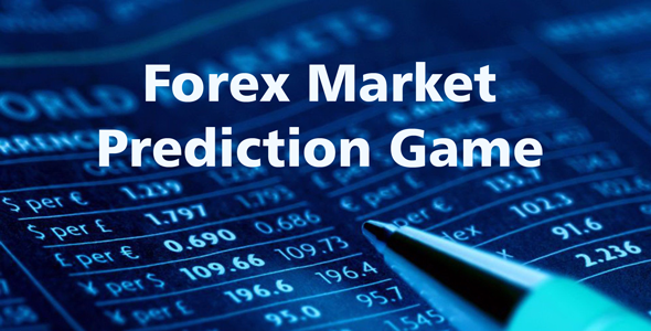 Forex Market Prediction Game Widget   JavaScript Plugin