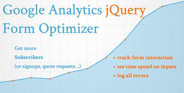 Google Analytics jQuery Form Optimizer