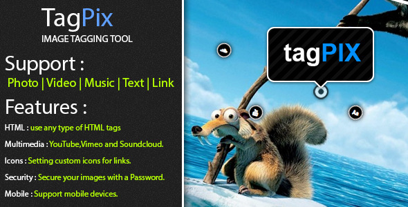 TagPix - Image tagging tool