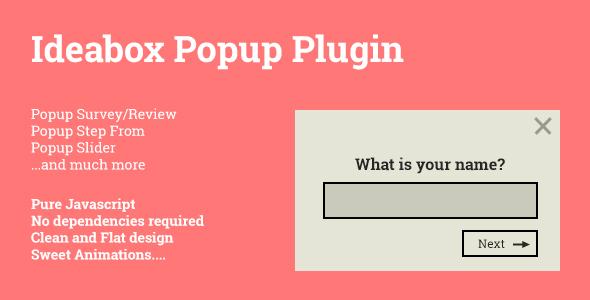Ideabox Popup - Popup Survey/Review