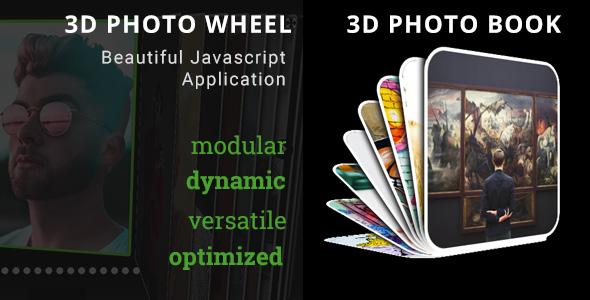 3D Photo Wheel - 3D Photo Book Bundle