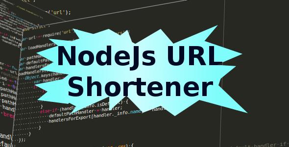 NodeJs URL shortener