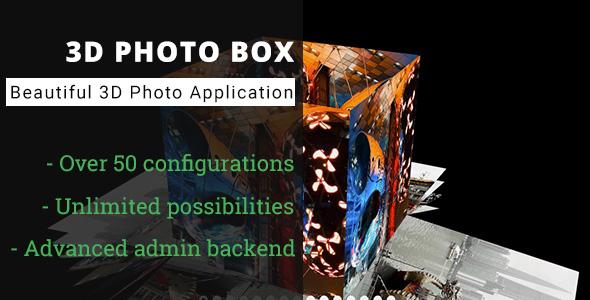 3D Photo Box - Advanced Media Gallery