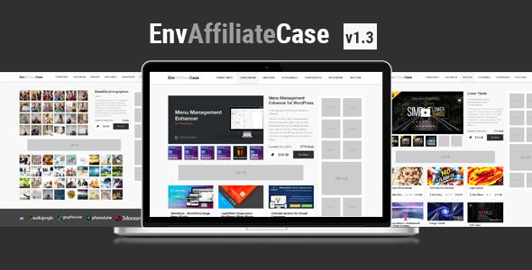 EnvAffiliateCase   Envato Market Affiliate and Item Showcase Plugin