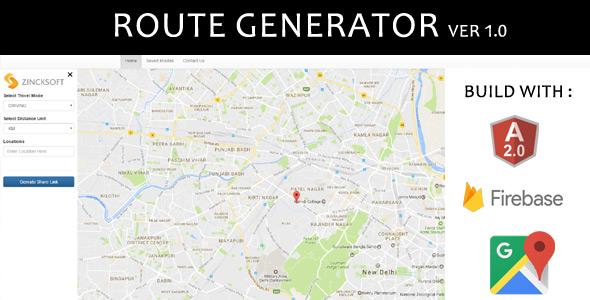 Angular Route Generator