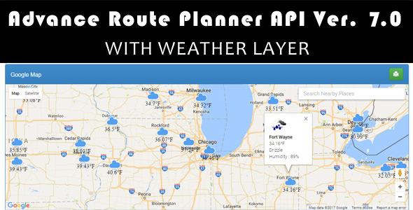 Advance Route Planner API Ver 7.0