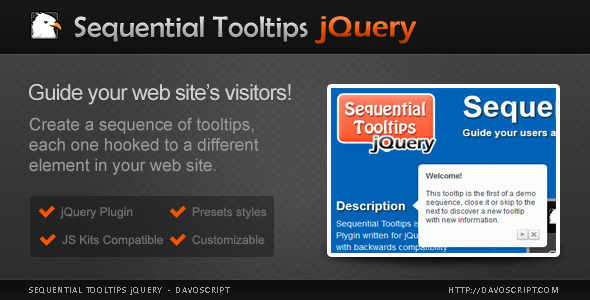 Sequential Tooltips jQuery