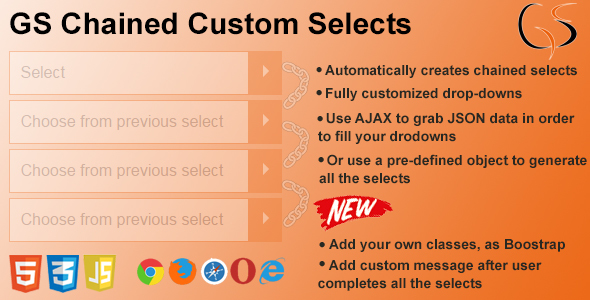 GS Chained Custom Selects