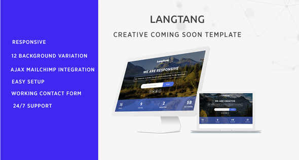 Langtang - Coming Soon Template