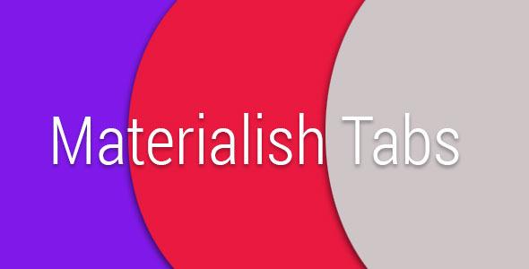 Materialish Tabs