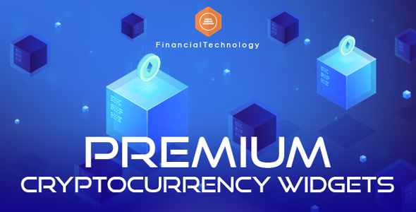 Premium Cryptocurrency Widgets   JavaScript Crypto Plugin