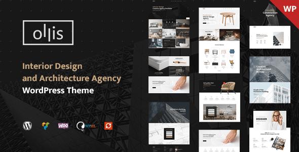 Ollis - Architecture Agency & Interior Design WordPress Theme