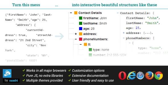 JSONViewer - A User Friendly Data Viewer