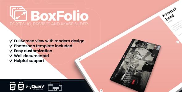 BoxFolio   Project