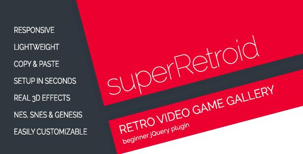 superRetroid - Retro Video Game Galleries